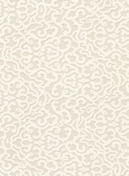 Picture of Genoese  Platinum Lace Geometrics Wallpaper