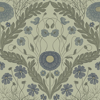 Picture of Marguerite Green Damask Wallpaper