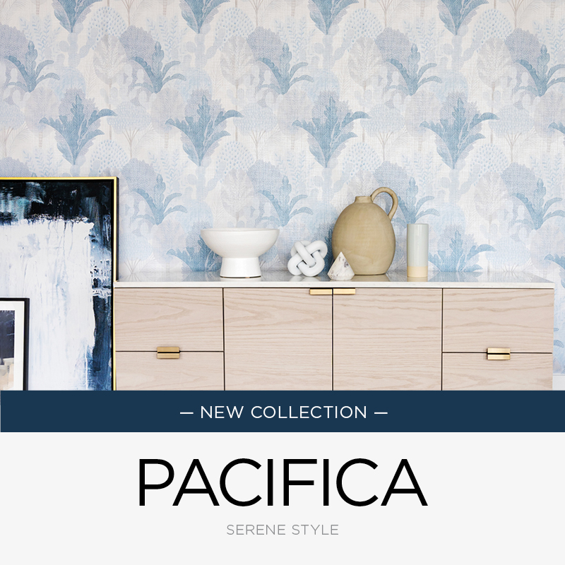 Pacifica Wallpaper Collection