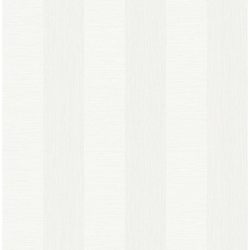 Picture of Intrepid White Textured Stripe Wallpaper