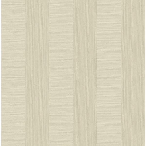Picture of Intrepid Bone Textured Stripe Wallpaper