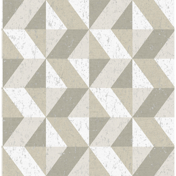Picture of Cerium Dark Grey Concrete Geometric Wallpaper