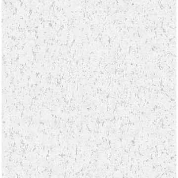 Picture of Guri White Concrete Texture Wallpaper