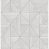Picture of Cheverny Light Grey Wood Tile Wallpaper