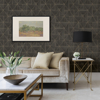 Picture of Cheverny Dark Brown Wood Tile Wallpaper