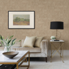 Picture of Cheverny Beige Wood Tile Wallpaper