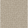 Picture of Gallerie Taupe Triangle Geometric Wallpaper