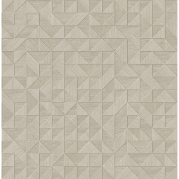 Picture of Gallerie Grey Triangle Geometric Wallpaper