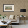 Picture of Intrinsic Light Brown Textured Geometric Wallpaper