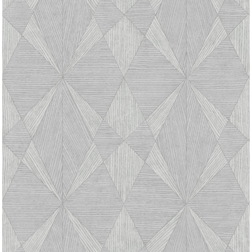 Picture of Intrinsic Grey Textured Geometric Wallpaper