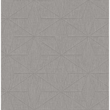 Picture of Bernice Silver Diamond Geometric Wallpaper