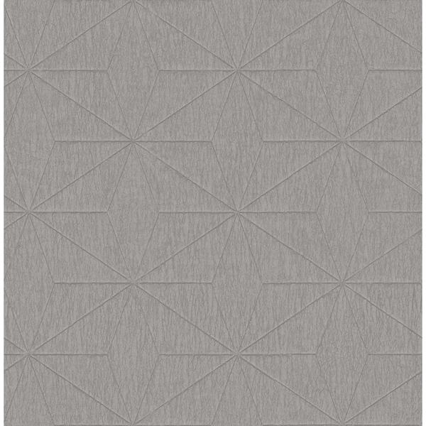 Picture of Bernice Silver Diamond Geometric Wallpaper