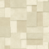 Picture of Duchamp Wheat Patchwork Metallic Wallpaper