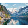 Picture of Snow Mountain With Lake Wall Mural
