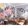 Picture of Tropical Exotic Flowers Wall Mural