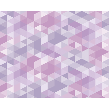 Picture of Pink Pastel Triangles Wall Mural