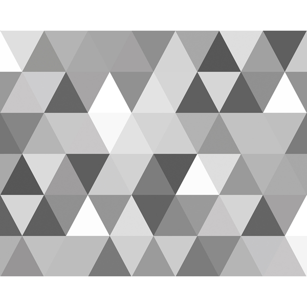 Picture of Triangular Geometric Pattern Wall Mural