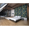 Picture of Exotic Leaves Wall Mural