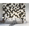 Picture of Marbled Textured Geometric Wall Mural