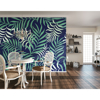 Picture of Exotic Jungle Leaves Wall Mural