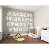 Picture of Patterned Alphabet Wall Mural