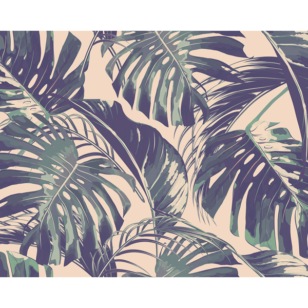 Picture of Palm Leaves Wall Mural