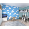 Picture of Cartoon Cloudy Sky Wall Mural