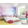 Picture of Watercolour Mermaid Scales Wall Mural