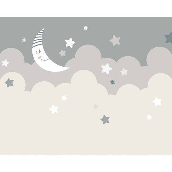 Picture of Nighttime Children's Sky Wall Mural