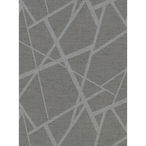 Picture of Avatar Pewter Abstract Geometric Wallpaper