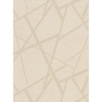 Picture of Avatar Cream Abstract Geometric Wallpaper