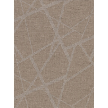 Picture of Avatar Brown Abstract Geometric Wallpaper