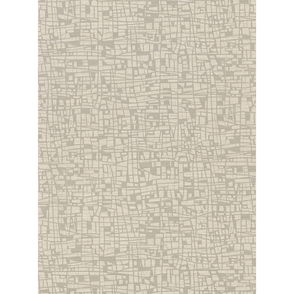 Picture of Tiffany Taupe Abstract Geometric Wallpaper