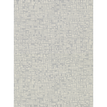 Picture of Tiffany Silver Abstract Geometric Wallpaper