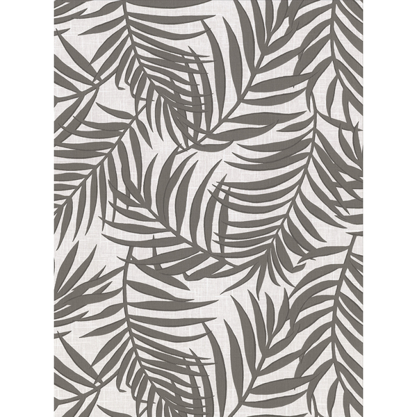 Picture of Lanai Grey Fronds Wallpaper