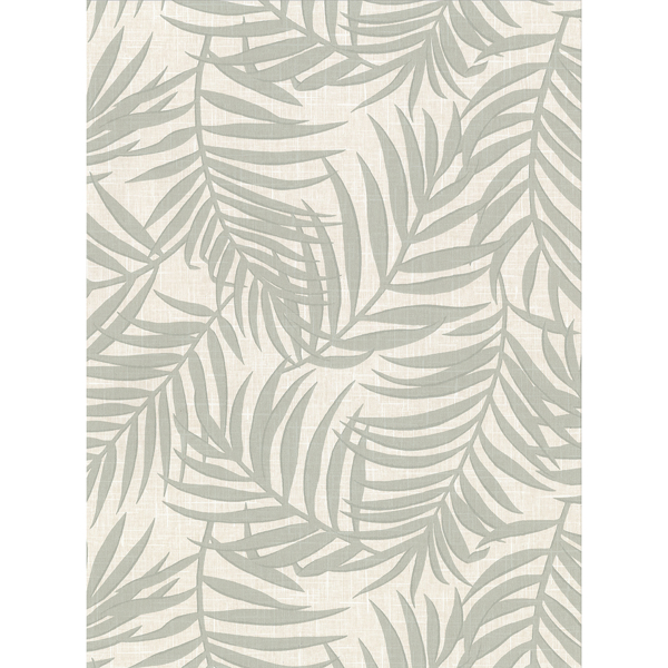 Picture of Lanai Beige Fronds Wallpaper