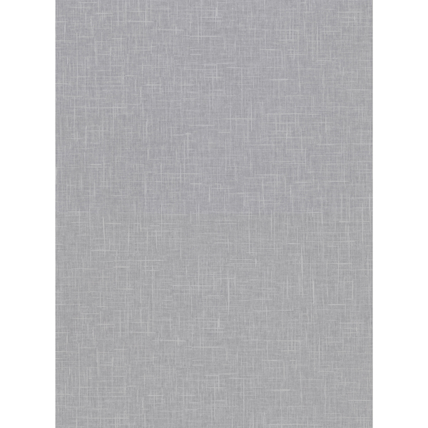 Picture of Linville Pewter Faux Linen Wallpaper