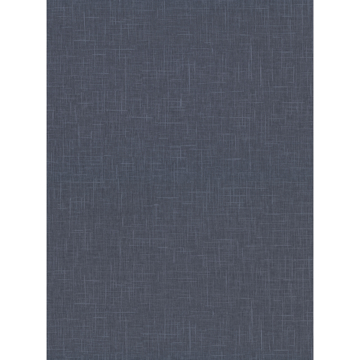 Picture of Linville Navy Faux Linen Wallpaper