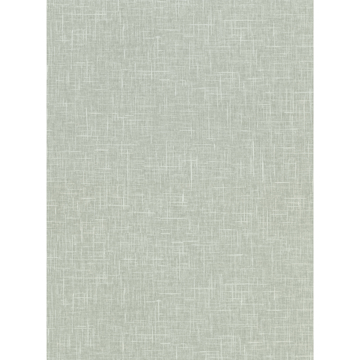 Picture of Linville Mint Faux Linen Wallpaper