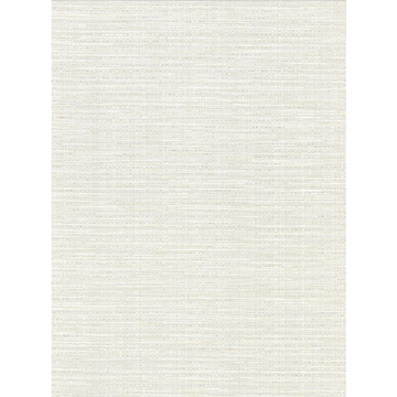 Picture of Bay Ridge White Faux Grasscloth Wallpaper