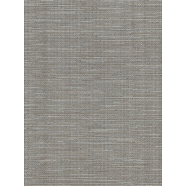 Picture of Bay Ridge Dark Grey Faux Grasscloth Wallpaper