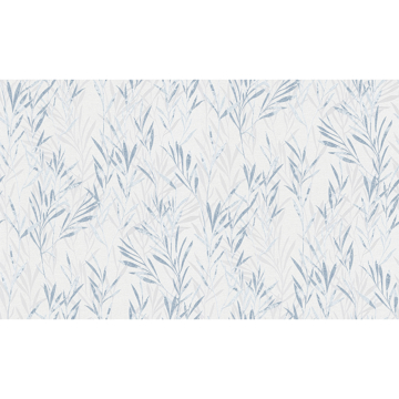 Picture of Bondi Blue Botanical Wallpaper