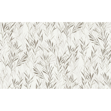 Picture of Bondi Taupe Botanical Wallpaper