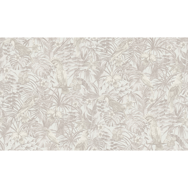 Picture of Susila Beige Tropical Wallpaper