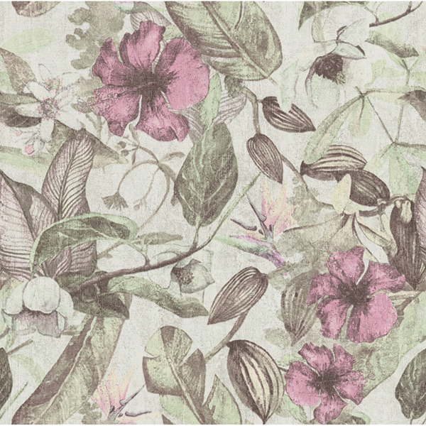Picture of Kailano Pastel Botanical Wallpaper