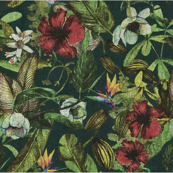 Picture of Kailano Multicolor Botanical Wallpaper