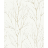 Picture of Diani Gold Metallic Tree Wallpaper