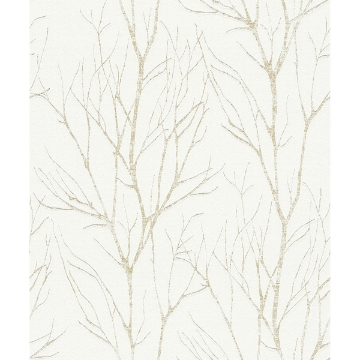 Picture of Diani Gold Metallic Tree Wallpaper