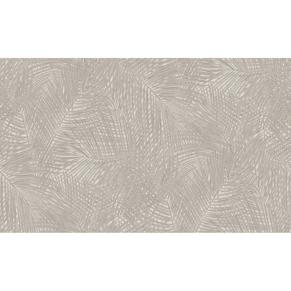 Picture of Raina Taupe Fronds Wallpaper