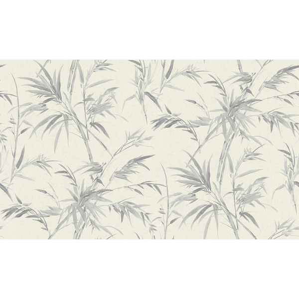 Picture of Hali Silver Fronds Wallpaper